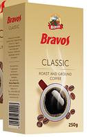 Молотый натуральный кофе Bravos Classic 250 г