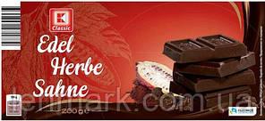 Черный шоколад K Classic Edel Herbe Sahne 200 г