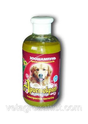 Шампунь Аристократ 350 мл для собак с экстрактом чистотела