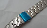 Браслет к часам Cera - нержавейка, цвет серебро, фото 1