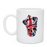 Чашка с британской символикой