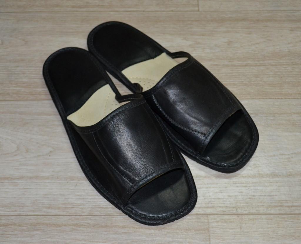 кожаные тапочки мужские фото