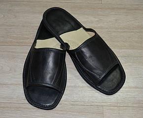 Тапочки кожаные (мужские), фото 2