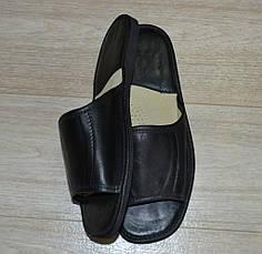 Тапочки кожаные (мужские), фото 3