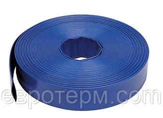 Шланг ( Рукав ) для дренажного и фекального насоса ПВХ  25 мм. 50 м.