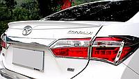 Спойлер крышки багажника Toyota Corolla 2013-