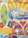 """Набор для вышивания """"Сёрфинг (Surf Sampler)"""" ANCHOR"""