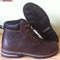 Суперские в стиле Wrangler Мужские зимние ботинки натуральная кожа обувь сапоги , фото 1
