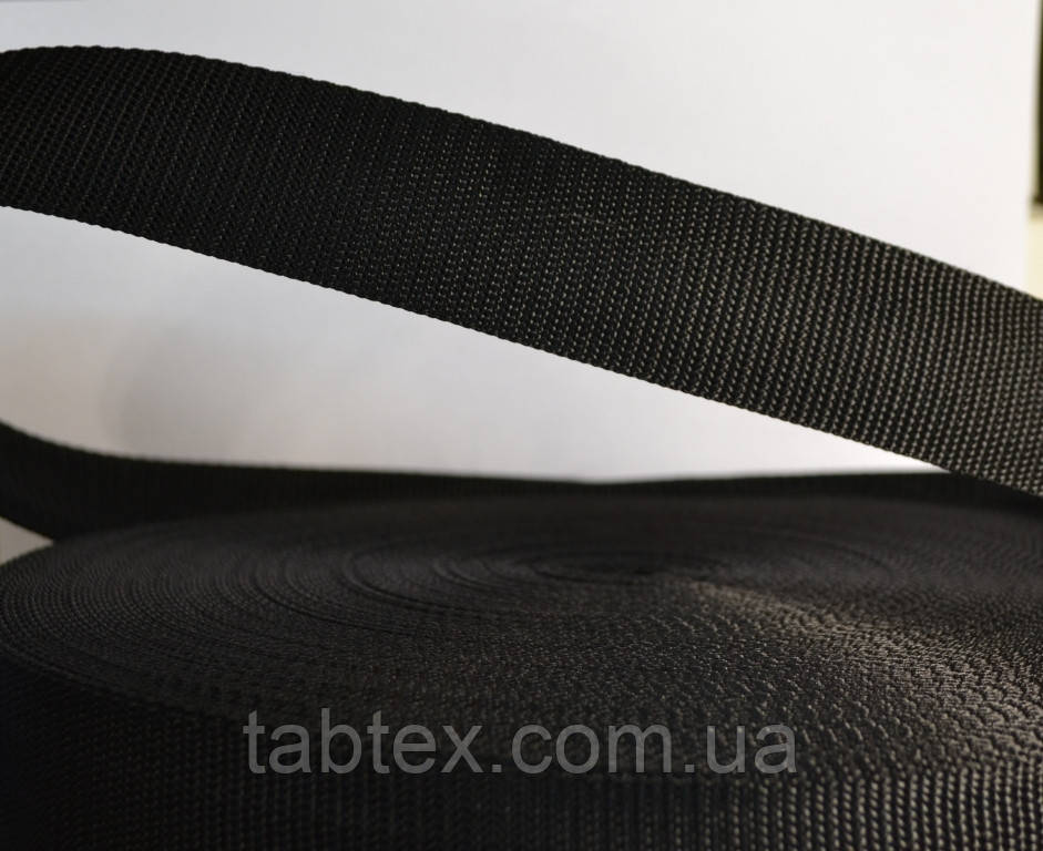 Тесьма №3 см (50метр.) черн (кит.) 16,5 г/м