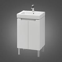 Комплект:шкафчик под умывальник MODO 50 см+умывальник мебельный 50 см,белый (пол.)