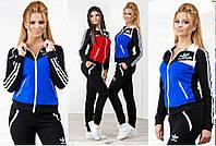 """Спортивный костюм """"Адидас"""" женский 3374, фото 1"""