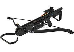 Арбалет Man Kung MK-XB21BK, Рекурсивный, винтовочного типа, пластиковый приклад цвет черный