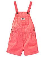 Комбинезон джинсовый для девочки OshKosh, размер 24М