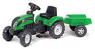 Трактор Педальный с Прицепом Ranch Trac Falk зеленый