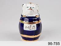 Банка для меда Мишка ложкой