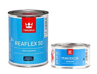 Эмаль эпоксидная TIKKURILA REAFLEX 50 для ванн и бассейнов белая 1л