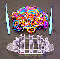 Набор резиночек для плетения-12 шт., фото 1