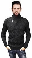 Черный мужской свитер