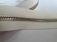 Молния метал. FUTURA рулонная 5мм белый/платина