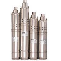 Погружной глубинный насос для скважин шнековый  4SQGD 1,8-100-0.75 Sprut