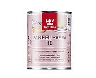 Лак акриловый TIKKURILA PANEELI-ÄSSÄ 10 панельный, матовый, 0,9л