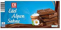 Молочный шоколад K Classic Edel Alpen Sahne с альпийского молока 200 г