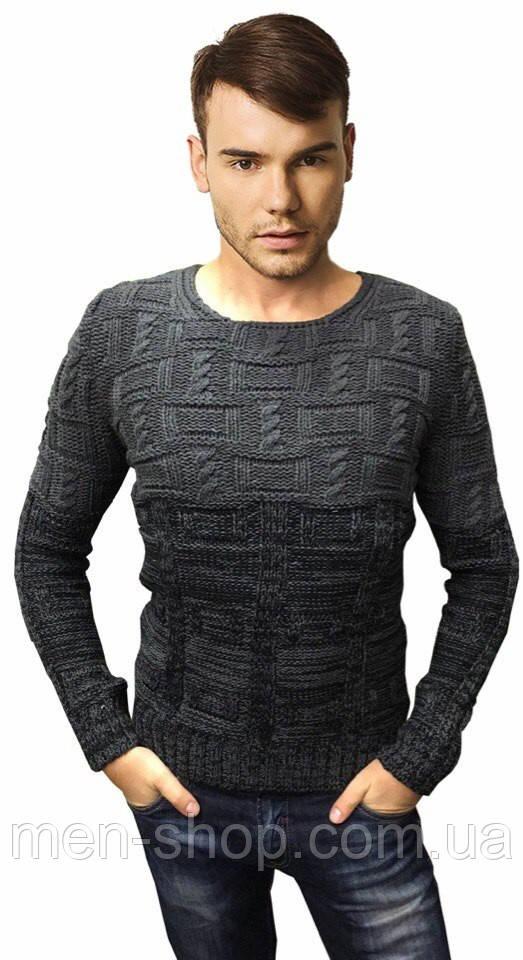 Молодежный мужской свитер