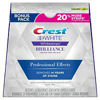 Полоски для отбеливания зубов Crest Whitestrips 3D White Professional Effects Brilliance