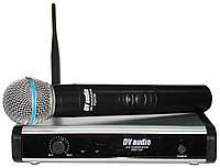 DV audio PGX-124 радиосистема UHF с ручными микрофоном