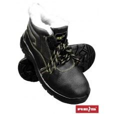 Ботинки рабочие кожаные утепленные метносок
