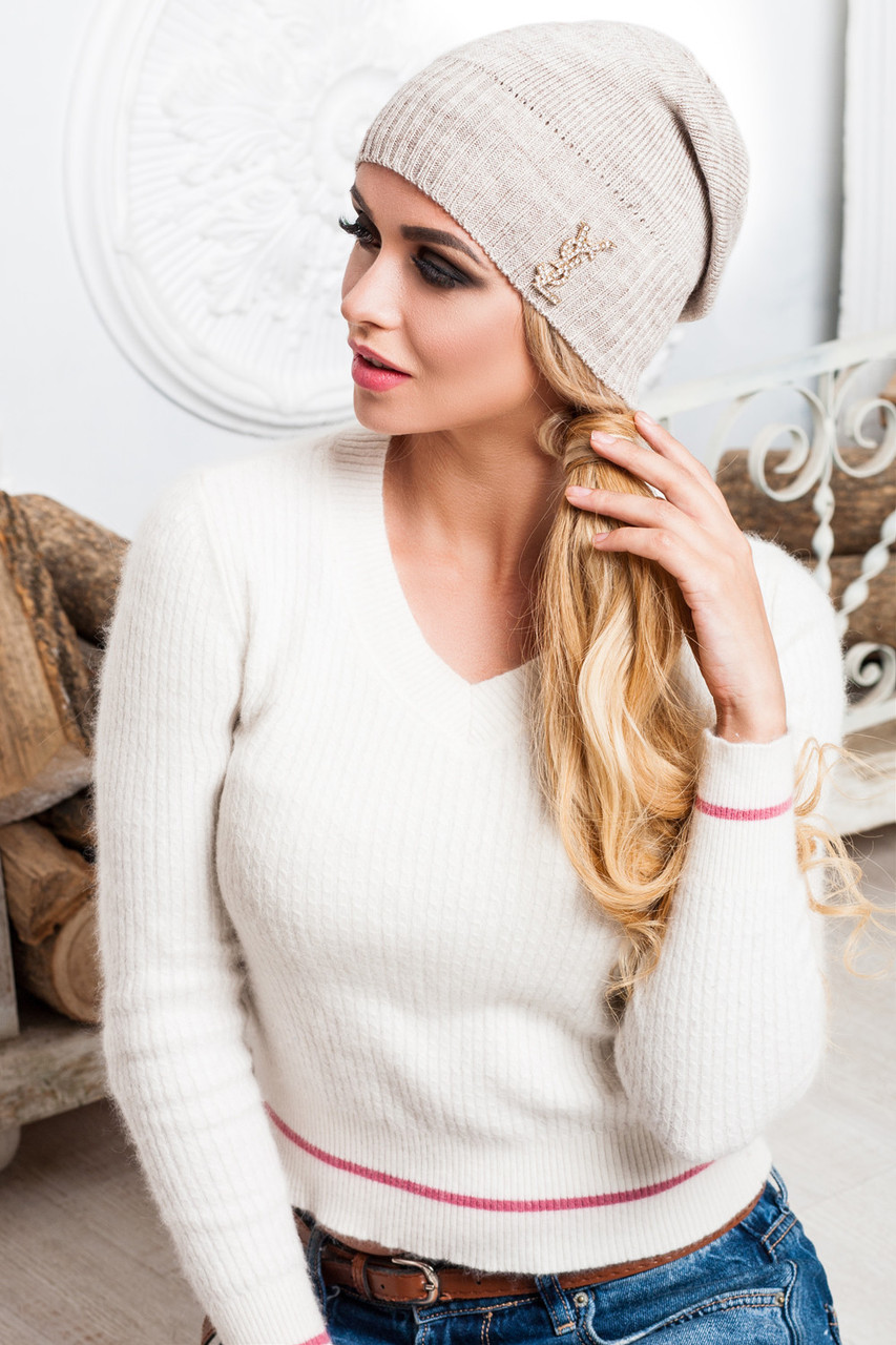 модные вязаные женские шапки 2017 цена 180 грн купить в киеве