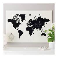 MÖLLTORP Доска для записей, Карта мира