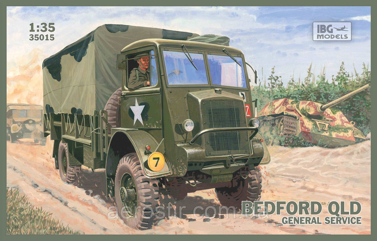 BEDFORD QLD General Service 1/35 IBG 35015
