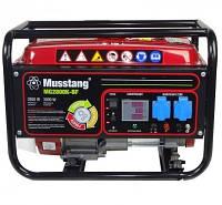 Генератор Musstang MG2800K-BF 3,0 кВт, однофозный, ручной старт, газ/бензин