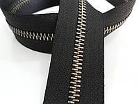 Молния метал. TECHNO рулонная 5мм черный/старый никель