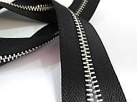 Молния метал. TECHNO 5мм черный/э.никель