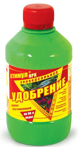 """Жидкое удобрение ТМ """"Чистый лист"""" Стимул NPK (310 мл), универсальное"""