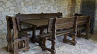 Комплект мебели для отдыха из натурального дерева