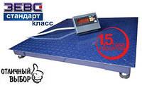 Весы платформенные Зевс ВПЕ-2000-4(H1010) Стандарт