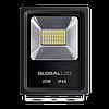 LED прожектор GLOBAL FLOOD LIGHT 20W 5000K холодный свет