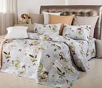 Набор Часы: постельное белье и летнее одеяло - Евро размер