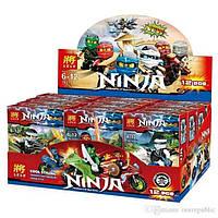 Конструктор Ninja 79270. Набор из 12шт. Для детского садика