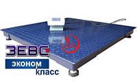 Весы платформенные Зевс ВПE1000-4(H1010) Эконом