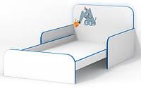 Кровать в детскую Слоник с бортиками