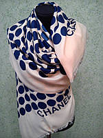 Палантин TAH Chanel горох
