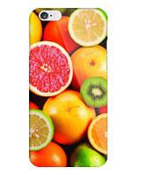 Оригинальный чехол накладка для Iphone 5c с рисунком Фрукты