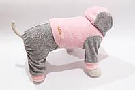 """Велюровый костюм """"Мимишка"""" размер M(28см) Vip Doggy"""
