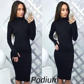 Платье Podium  черный цвет