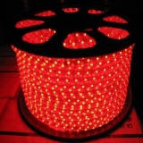 Светодиодная лента LED 5050 с красными диодами бухта 100 метров 220V