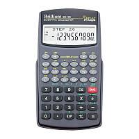 Калькулятор инженерный 8 разрядный с 2 экспонентами Brilliant BS-160